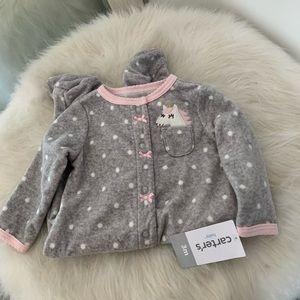Carter's Baby Pajamas Snap Button Fleece One Piece